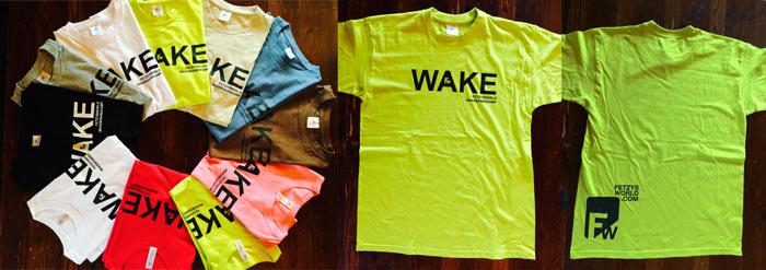 FW Wake Tshirts