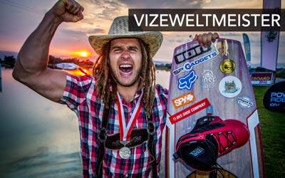 Daniel Fetz Vizeweltmeister Wakeboard