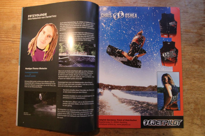 Wama Wakeboard Magazin 2012