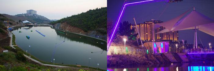 Alanya Gold cablepark Türkei