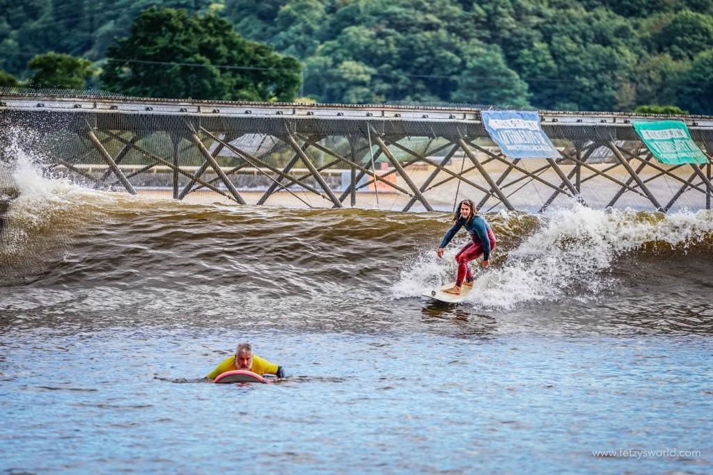 Surf Snowdonia Wavegarden Daniel Fetz